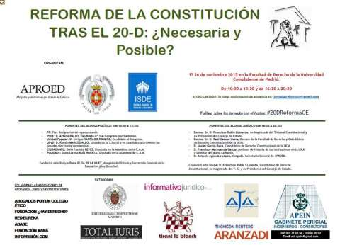 reforma de la constitucion 0 1