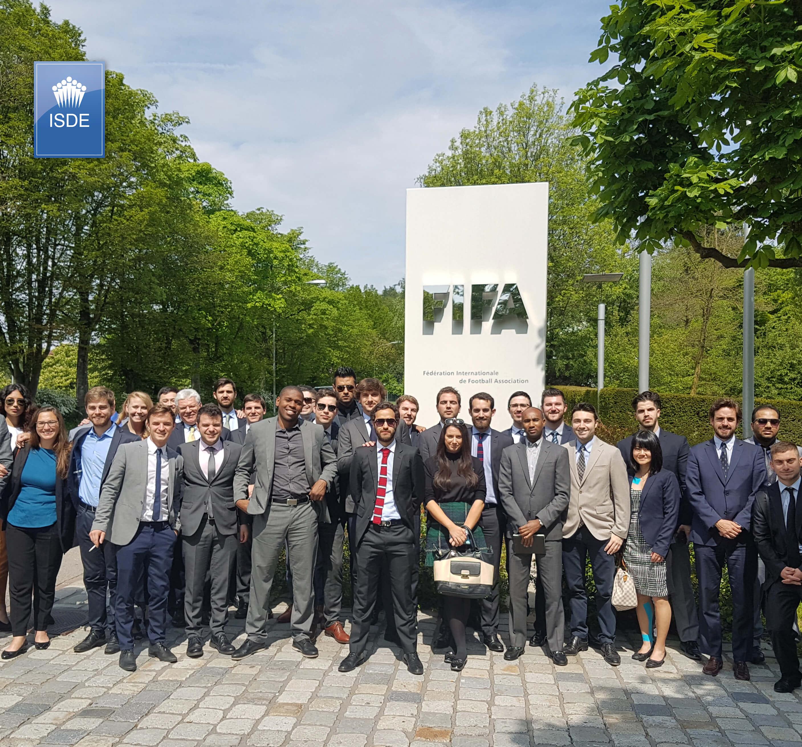 fifa. foto de grupo en la entrada principal copy