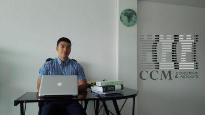 foto isde. jairo david inagan ce 2017 foto en su actual puesto de trabajo