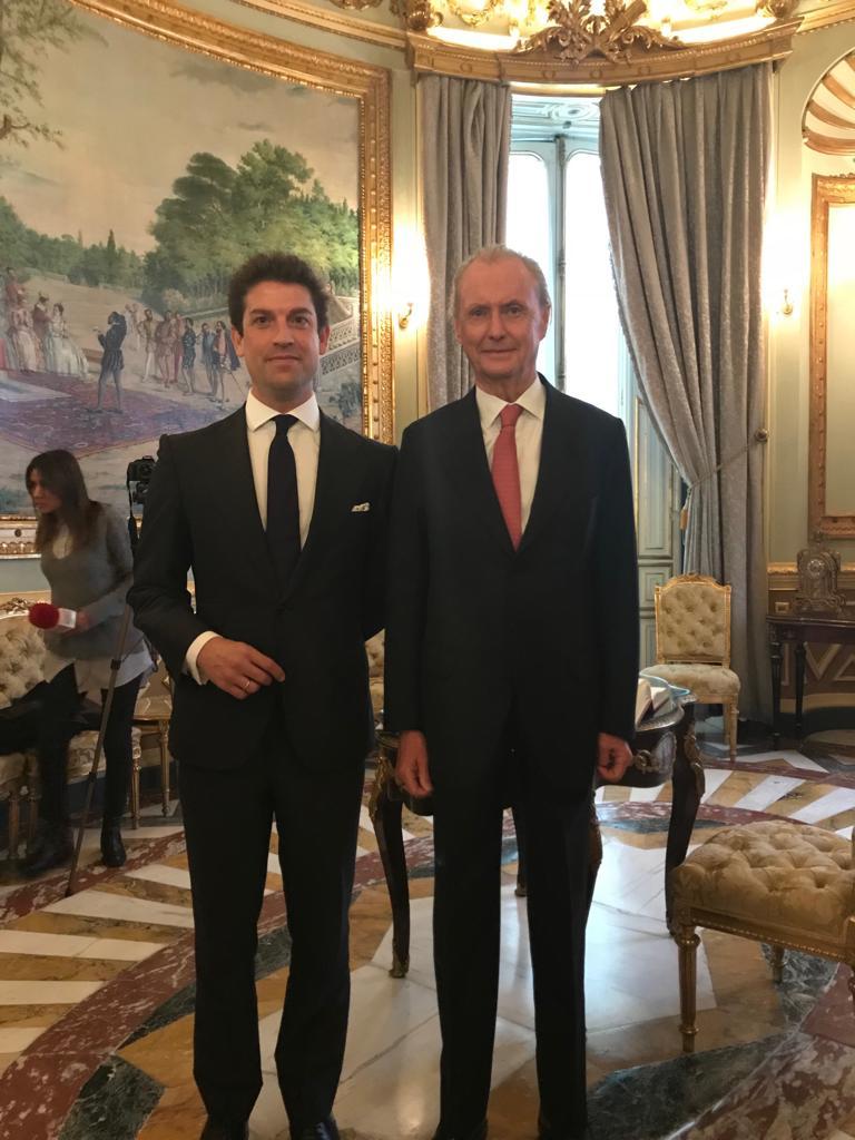 isde con el embajador de espana en eeuu