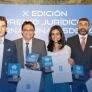 Alfonso Ortega, Ismael Franco, Pablo García, María Virginia Viloria y Adrián Navarro, ganadores del X Premio Jurídico Internacional ISDE.