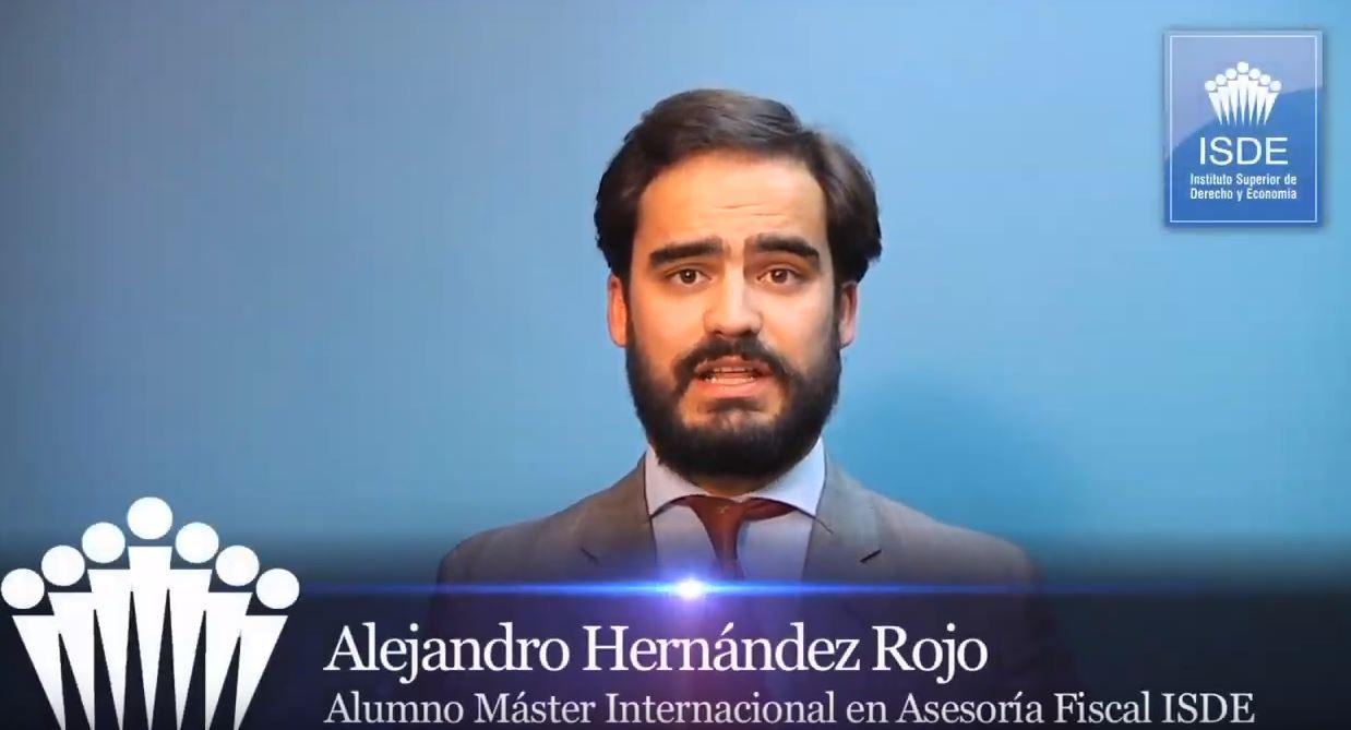 Alejandro Hernández Rojo - Alumno ISDE