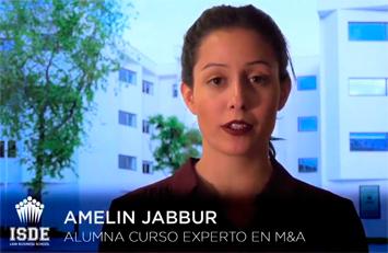 Amelin Jabbur. Alumna curso experto en M&A