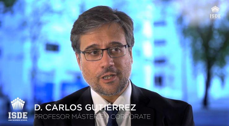 Carlos Gutiérrez - Profesor Máster en Corporate