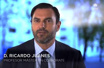 Ricardo Juanes, profesor del Curso de Experto en Corporate.