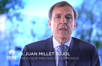 Juan Millet, profesor del Master en Corporate y Dirección Financiera.