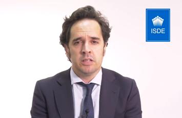 Juan Bezares, profesor del Master en Corporate y Dirección Financiera de ISDE.