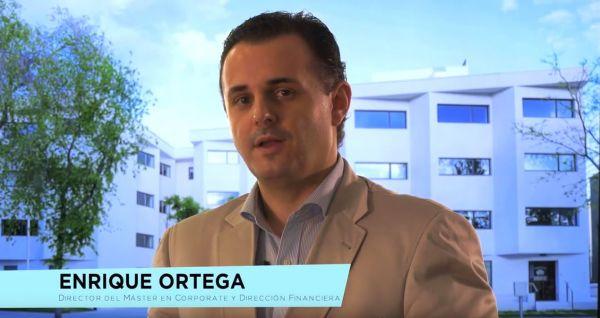 Enrique Ortega, director del Máster en Corporate y Dirección Financiera.