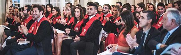 Estudiantes de ISDE, master Acceso Abogacía.