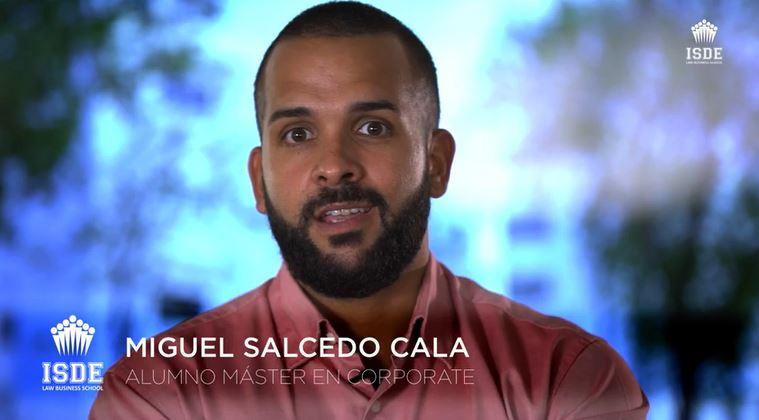 Miguel Salcedo Cala - Alumno Máster en Corporate