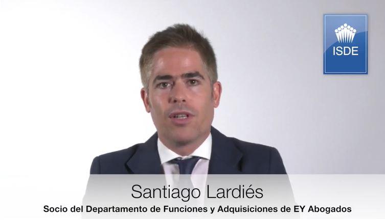 Santiago Lardiés - Profesor Máster en Corporate