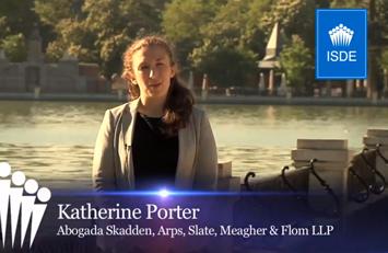 Testimonio de Katherine Porter sobre el Master en Derecho Deportivo Internacional.