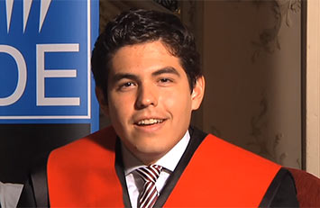 Diego Fernández Maldonado. Master in International Law, Foreign Trade & International Relations.