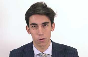 Testimonio de Víctor Paz sobre el Grado en Derecho de ISDE.