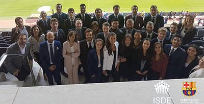 Master en Gestión Deportiva y Habilidades Jurídicas ISDE – FC Barcelona
