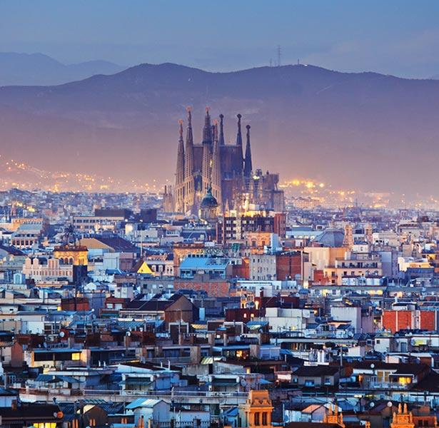 Paisaje de Barcelona