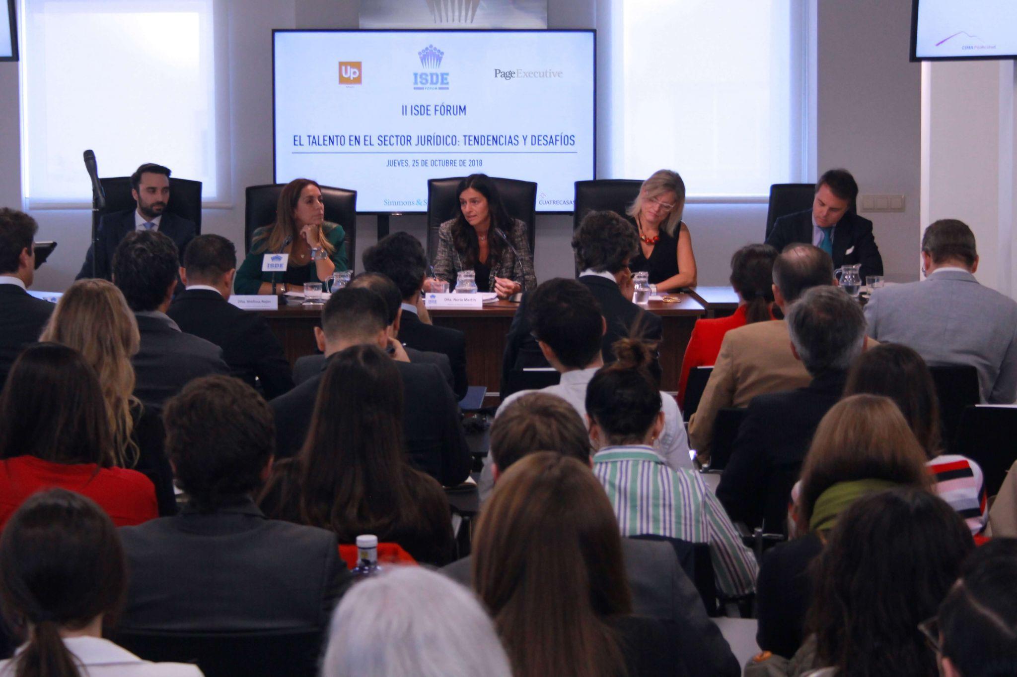 ii isde forum   el talento en el sector juridico