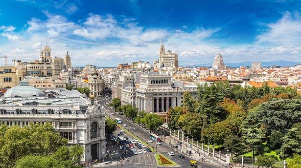 Paisaje de Madrid
