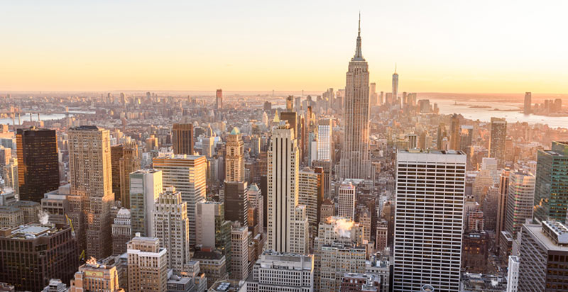 Paisaje de Nueva York