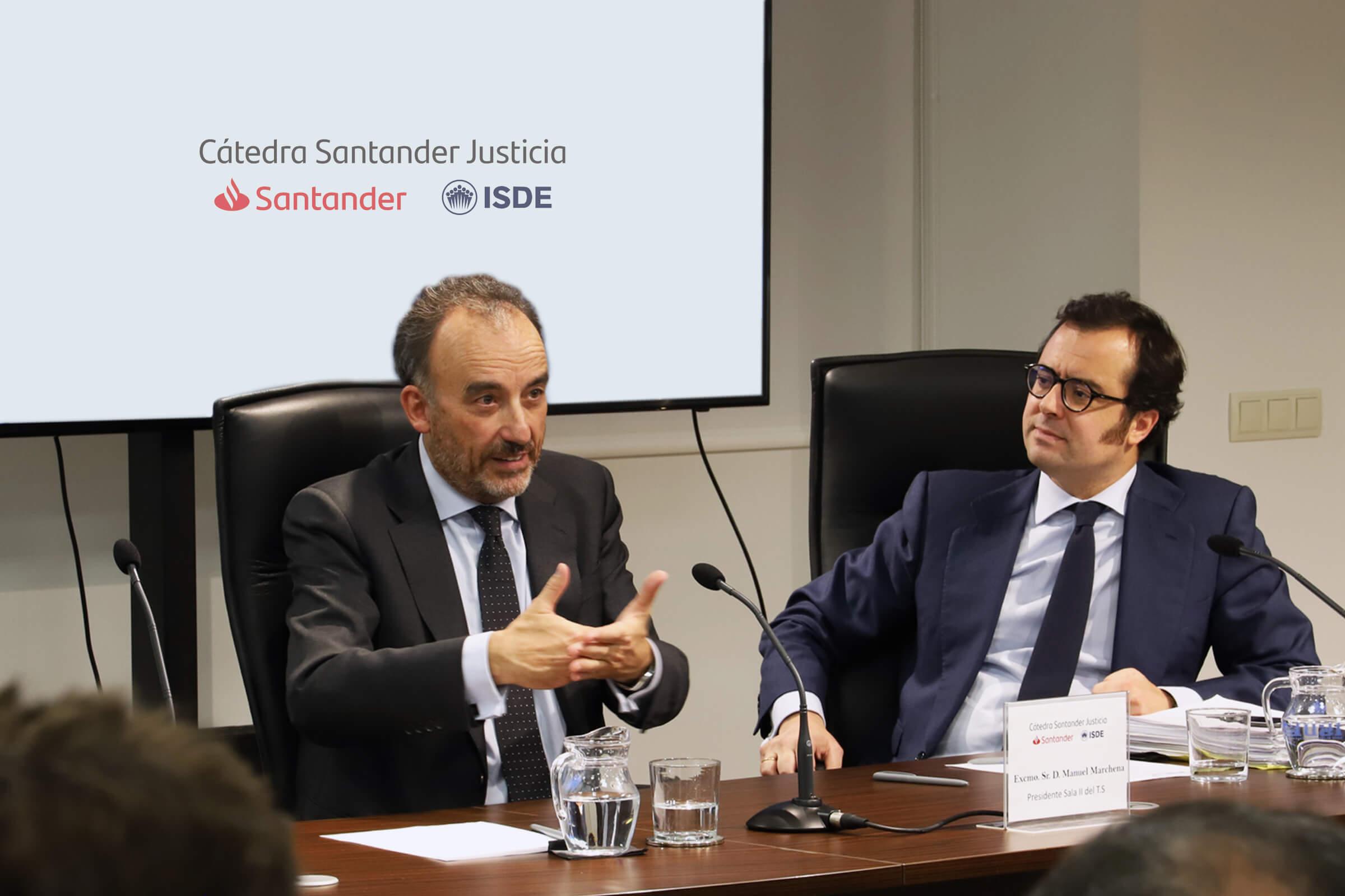 Manuel Marchena comparte su visión sobre el 'compliance' y la teoría general del delito