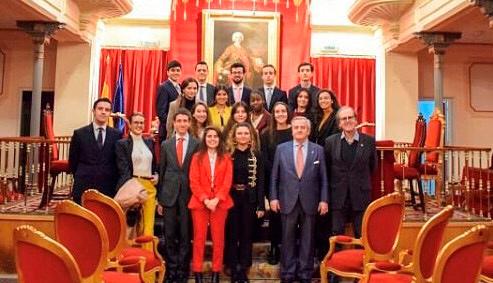 Visita a la Real Academia de Jurisprudencia y Legislacion main