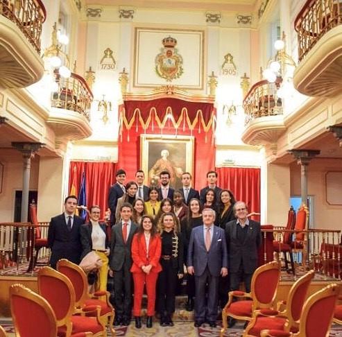 Visita a la Real Academia de Jurisprudencia y Legislacion