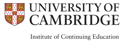 University of Cambridge ICE