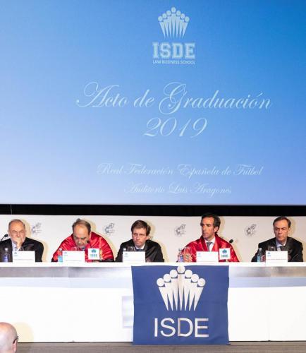 Graduación ISDE 19 SB 49